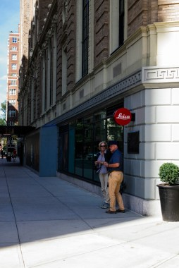 The new Leica Store in Boston
