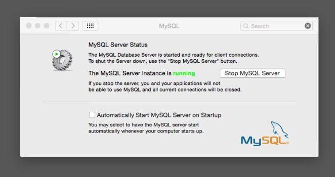 MySQL not auto starting on Yosemite