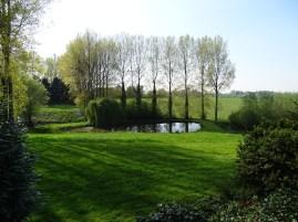 Vue sur l'étang du Hameau de Favarge