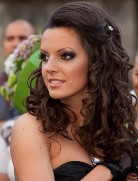 Curly Hairstyles For Prom pics
