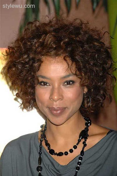 Haircuts for kinky curly hair