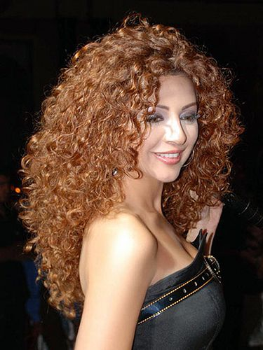 Long Curly Permed Hairstyles..