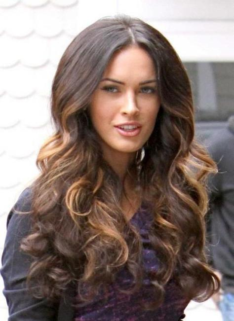 Megan Fox Wavy Hairstyle