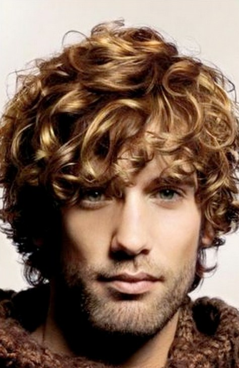 Men's Curly Hairstyles 2015