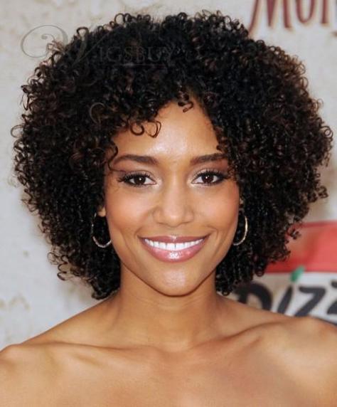 Nikki Reed Kinky Curly Wigs