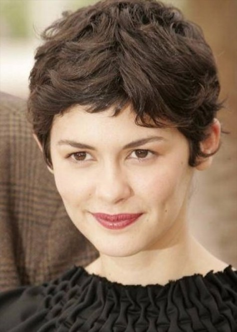 Pixie Cuts For Curly Hair images