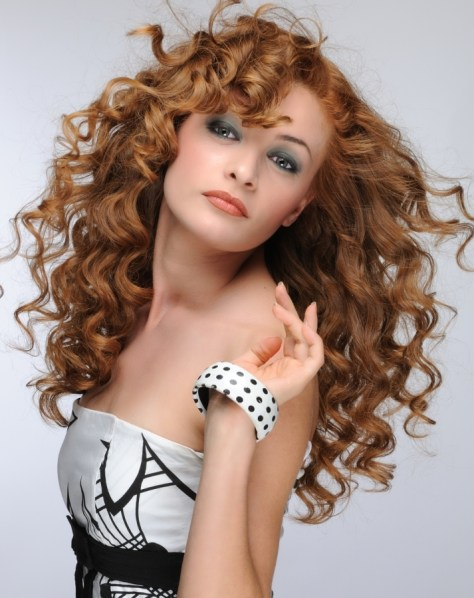 Professional Curly Hairstyle