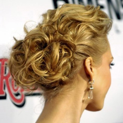 Prom Hair Styles-Curly Updo
