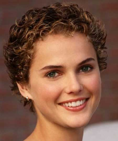 Short Trendy Curly Haircuts