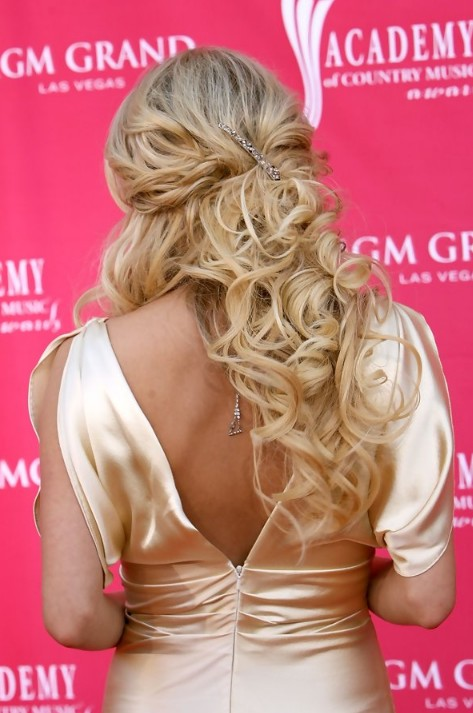 curly homecoming hairstyles...