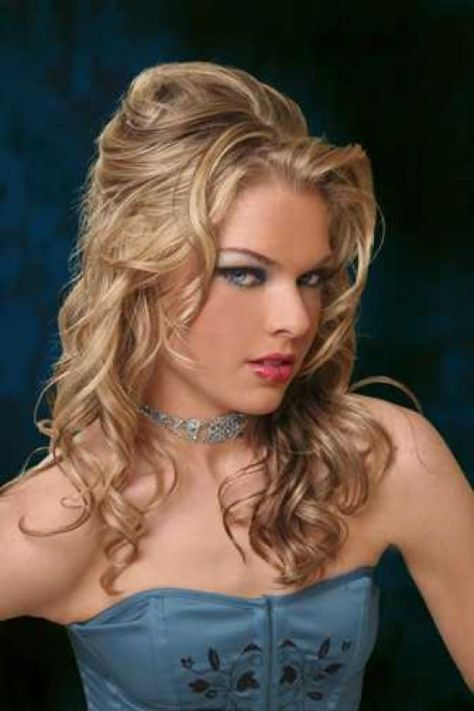 curly homecoming hairstyles..