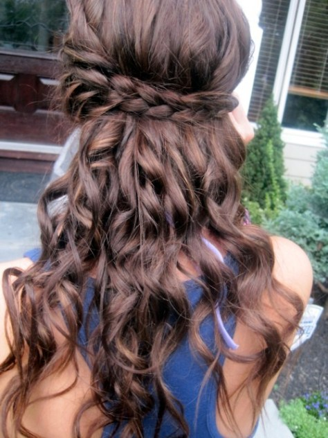 Wedding Hair, Bridesmaid Hair