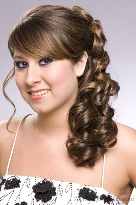 curly wedding hairstyles pics