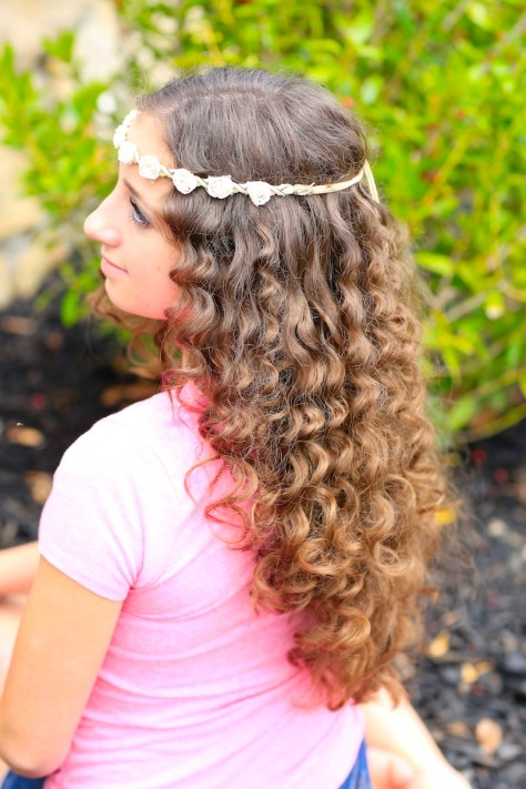 Cute Hairstyles For Kids With Curly Hair