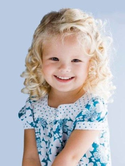 Trendy Curly Kids Hairstyles For Girls