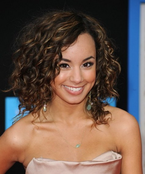 curly hair pin up hairstyles
