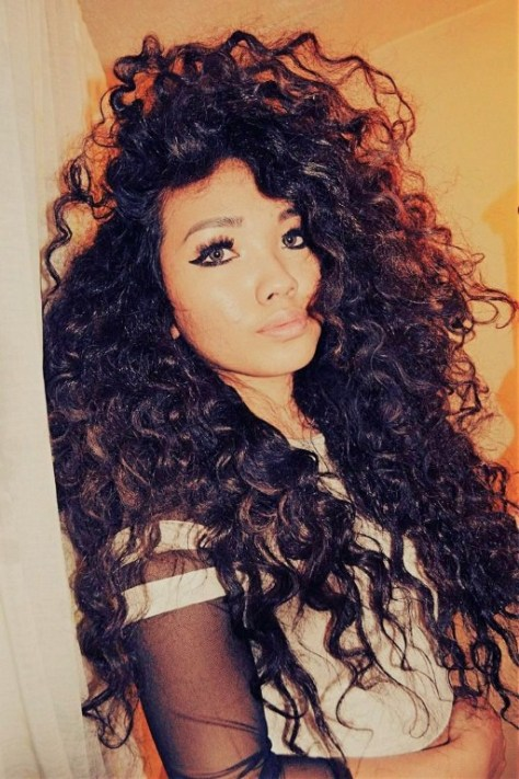 cute and easy hairstyles for naturally curly hair