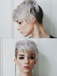 Cool undercut hairstyles for girls