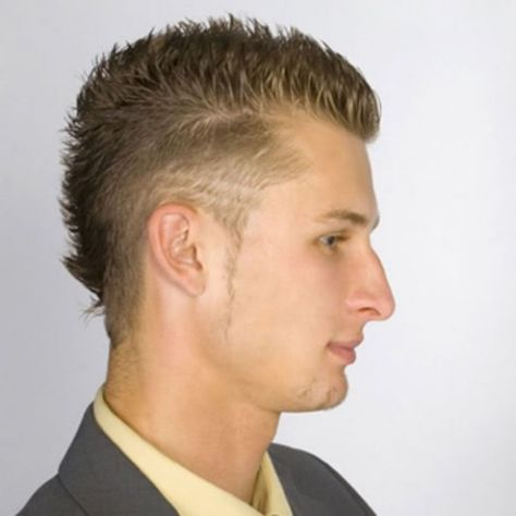 Short Mohawk Hairstyles For Men