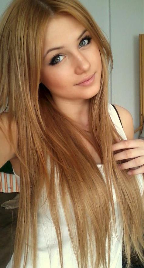 dark blonde hair color for dark hair
