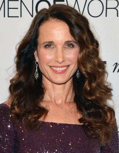 NEW YORK, NY - DECEMBER 06: Actress Andie MacDowell attends Seventh Annual Women of Worth Awards at Hearst Tower on December 6, 2012 in New York City. (Photo by Slaven Vlasic/Getty Images)