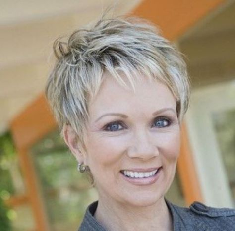 Great pixie haircut for women over 50