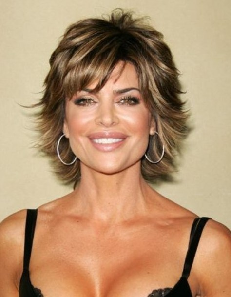 Shaggy Bob Hairstyles for Women over 50..