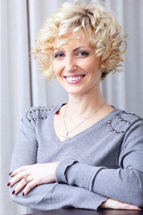 ... Short Curly Hairstyles Women Over 50 ...