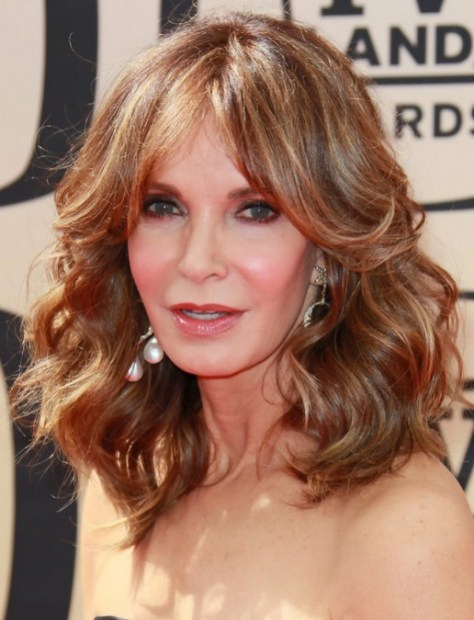 Women Over 50 Haircuts Jaclyn Smith Medium Curly Hair Style