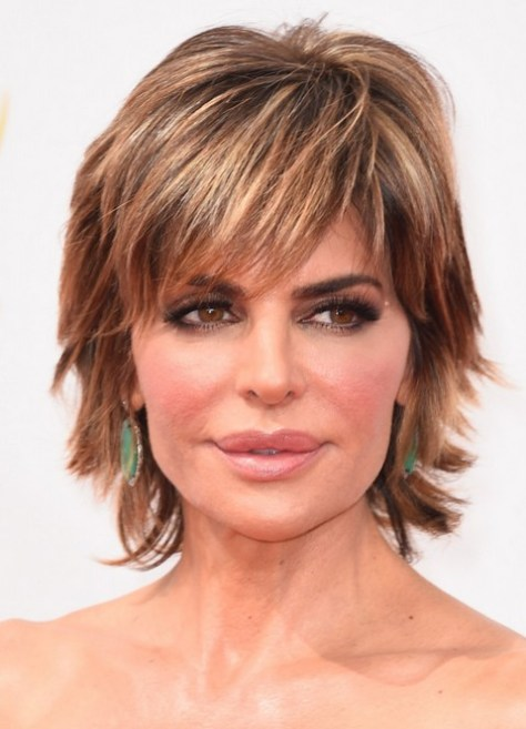 Women Over 50 Lisa Rinna Short Haircut