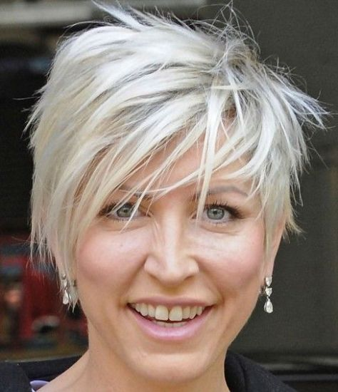 choppy short hairstyles for women over 50 fine hair