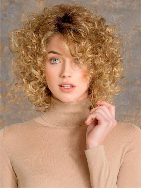2016 Short Hairstyles for Thin Fine Curly hair