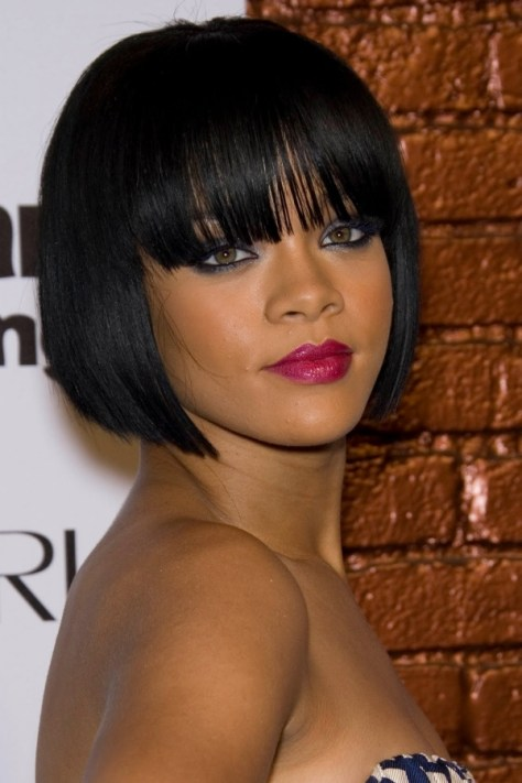 African Short Bob Hairstyles for Black Women