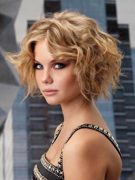 Beautiful Short Curly Hairstyles...