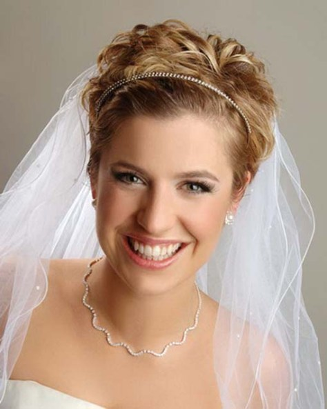 Best Wedding Hairstyles for Short Hair 2015