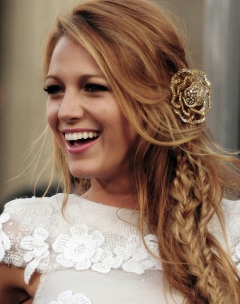 Blake Lively Wedding Hair