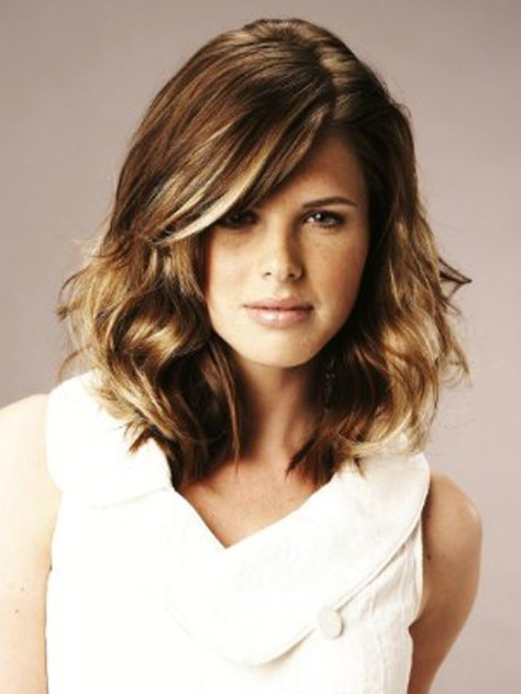 Blazing Shoulder Length Hair Styles