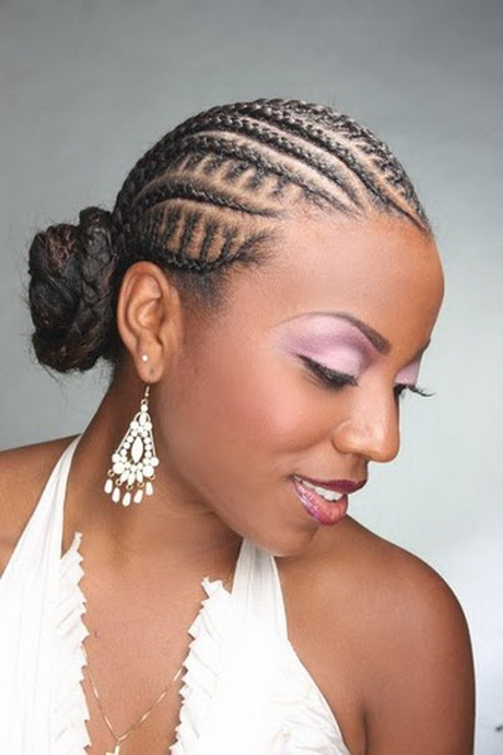 Braids for Black Women Bun Hairstyles