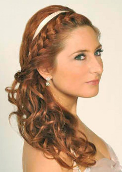 French Braid Wedding Hairstyles for Long hair