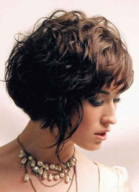 Good Short Haircuts for Wavy Hair-