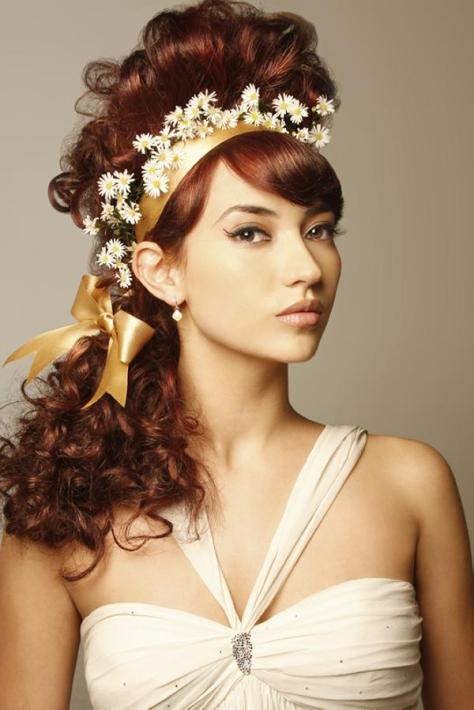 Hair-Raising Wedding Hairstyles