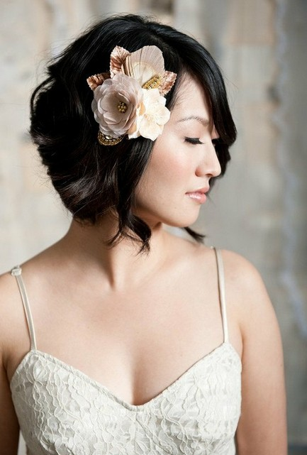 Hairstyle Short Hair Wedding... Pics