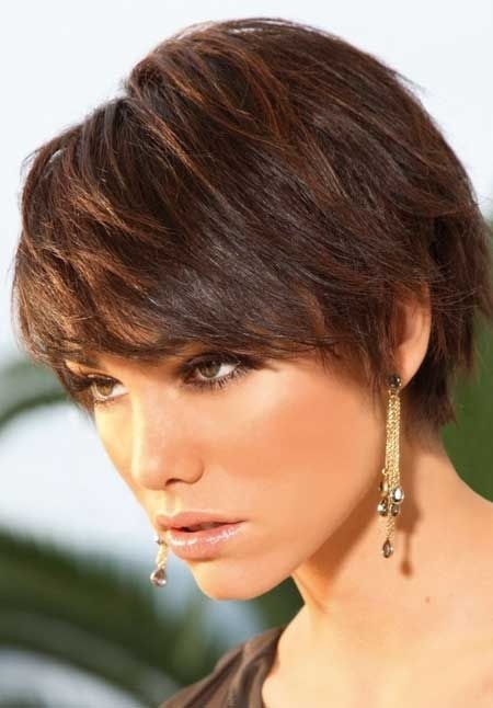 Hairstyle Short Haircuts for Thick Hair