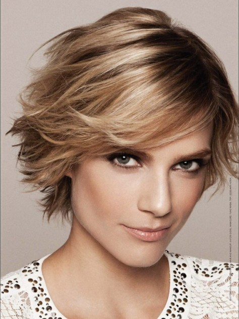 Hairstyles for Short Hair Color