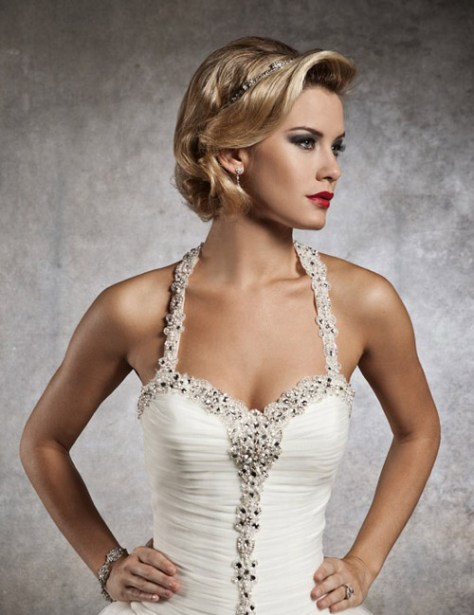 Most popular short wedding hairstyles of 2015