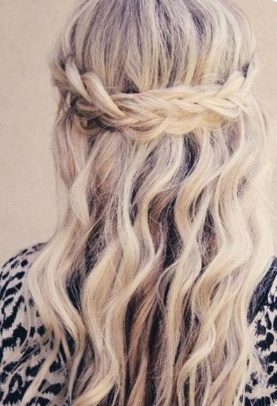 Pretty Prom Hairstyles Long Hair