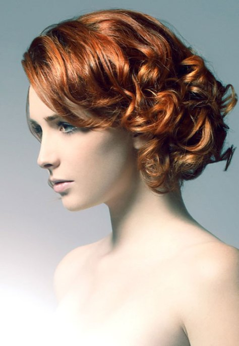 Prom Hairdos For Short Curly Hair