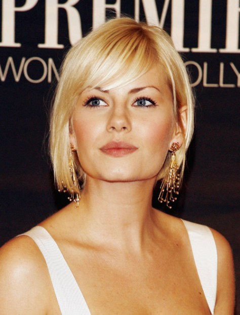 Short Bob Hairstyles with Bangs for Fine