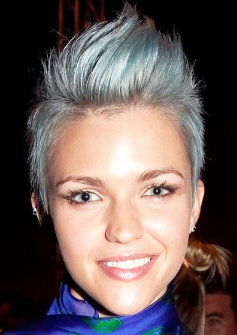 Short Faux Hawk Hairstyles for Women