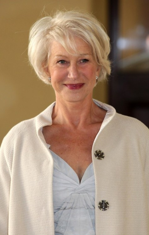 Short Formal Hairstyles for Older Women
